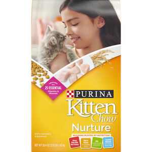 Purina Kitten Chow Dry Food 3.15lb