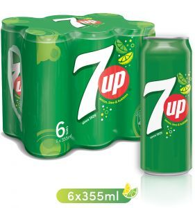 7 Up Cans 6x355ml