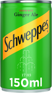 Schweppes Ginger Ale Can 150ml