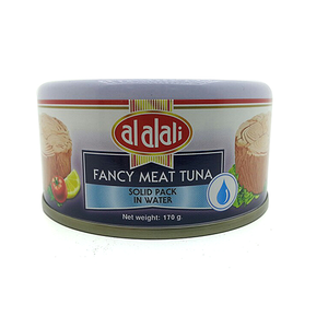 Al Alali Fancy Meat Tuna Solid Pack In Water 170gm