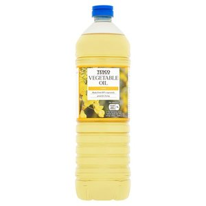 Tesco Vegetable Oil 1L