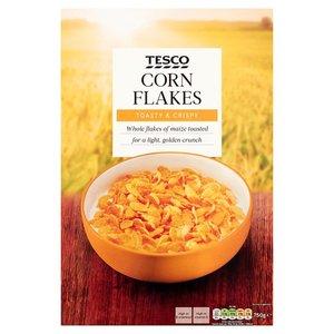 Tesco Cornflakes 750g