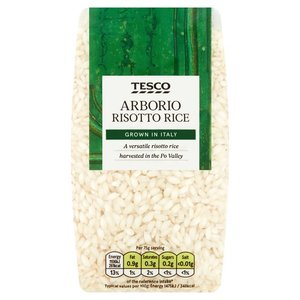 Tesco Risotto Rice Ingredient Arborio 500g