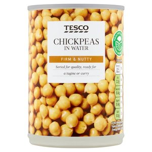 Tesco Chick Peas 400g