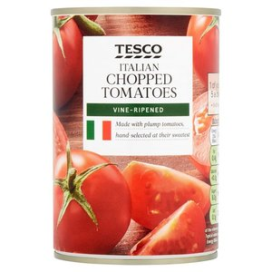 Tesco Chopped Tomatoes Italian 400g