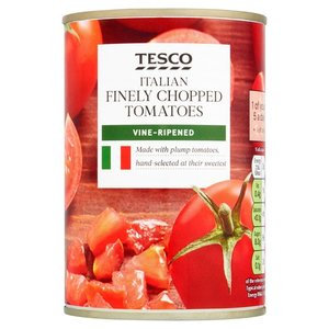 Tesco Chopped Tomatoes Finely 400g