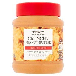 Tesco Peanut Butter Crunchy 340g