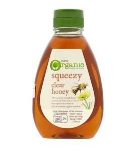 Tesco Honey Squeezy Organic 340g