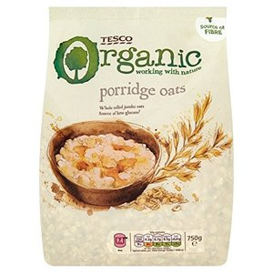 Tesco Porridge Oats Organic 750g