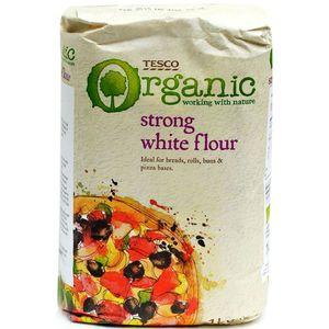 Tesco Strong White Flour Organic 1kg