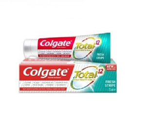 Colgate Toothpaste Total 12 Fresh Stripe 75ml