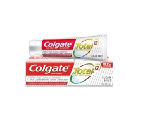 Colgate Toothpaste Total 12 Clean Mint 75ml