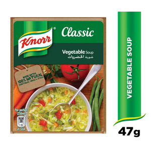 Knorr Vegetables Packet Soup 47g