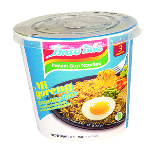 Indomie Cup Bbq Chkn Fried Noodle 75g
