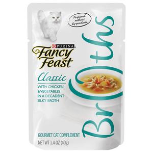 Purina Fancy Feast Broths Chicken & Vegetable 39g