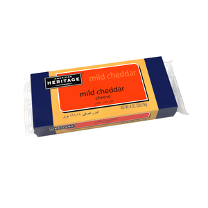 American Heritage Cheddar Cheese Mild Block 227g