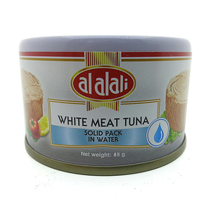 Al Alali White Meat Tuna Solid Pack In Water 85g
