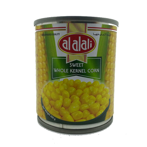 Al Alali Sweet Whole Kernel Corn 200gm