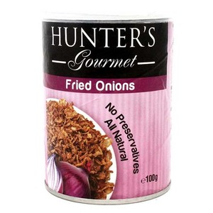 Hunters Fried Onions Gourmet 100gm