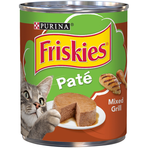 Purina Friskies Wet Can Pate Mixed Grill Cat Food 369g