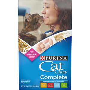 Purina Cat Chow Complete Dry Food 3.15lb