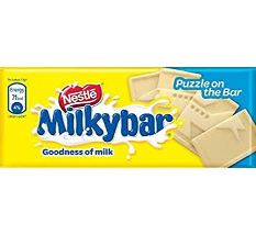 Nestle Milky Bar White Chocolate Bar 12g