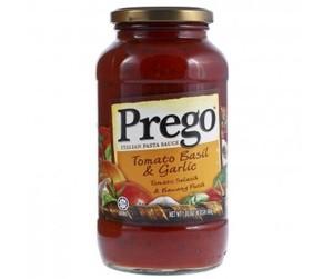 Prego Sauce Tomato Basil Garlic 680gm