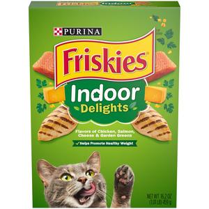 Purina Friskies Indoor Delights Cat Food 459g