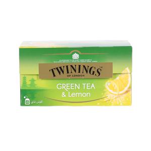 Twinings Goldline Green Tea Lemon 25s