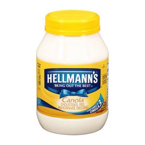 Hellmann's Canola Mayonnaise Dressing 887ml