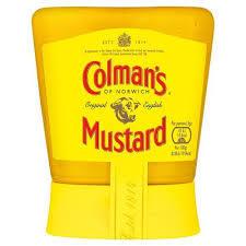 Colman's Original English Squeezy Mustard 150g