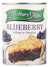 Mother's Maid Blueberry Pie Filling 21oz