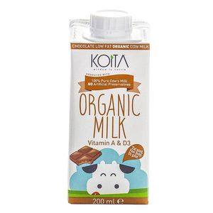Koita Organic Chocolate Milk No Artificial Preservatives 200ml