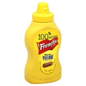 French's Yellow Mustard Squeeze 226g