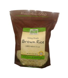 Now Foods Rice Brown Long Grain Natural 2lb