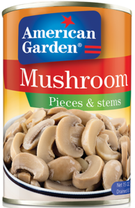 American Garden Mushroom Pieces & Stems 425g