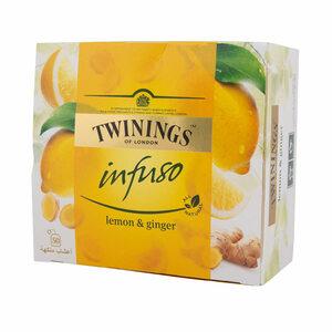 Twinings Infuso Lemon & Ginger Bag 50s