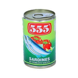 555 Sardines Tom Sau Green 155gm