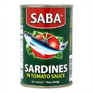 Saba Sardines In Tomato Sauce 155g