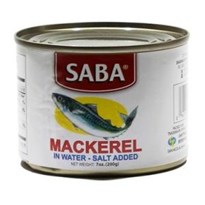 Saba Mackerel in Water 200g