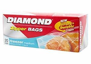 Diamond Sandwich Bag Zipper 20bags