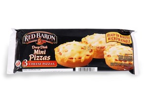 Red Baron Deep Dish Mini 3 Cheese Pizza 115gm