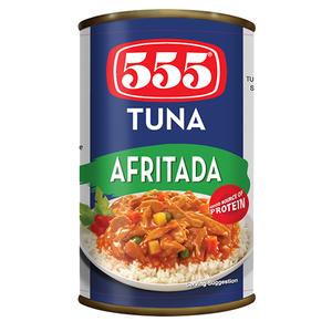 555 Tuna Afritada 155gm