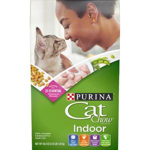 Purina Cat Chow Indoor Cat Dry Food 1.42kg