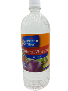 American Garden White Natural Vinegar 946ml