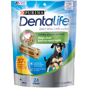 Purina Dentalife Dog Treats Daily Oral Care For Mini Dogs 193g