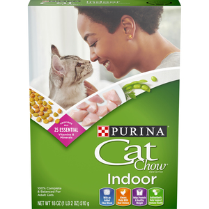 Purina Cat Chow Indoor Cat Dry Food 510g