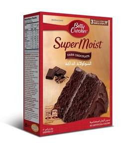 Betty Crocker Dark Chocolate Cake 500g