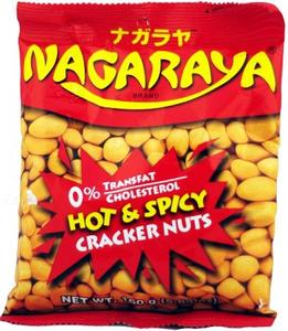 Nagaraya Hot & Spicy Cracker Nuts 160g