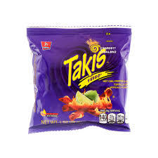 Takis Barcel Fuego Hot Chili And Lime 28g